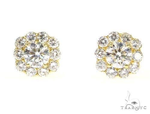 Merlin Diamond Earrings 45097 Stone