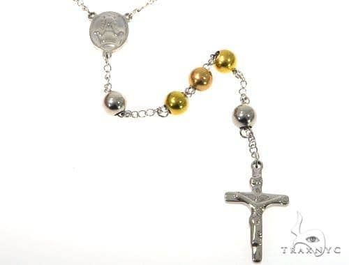 Cross Crucifix Stainless Steel Rosary Stainless Steel