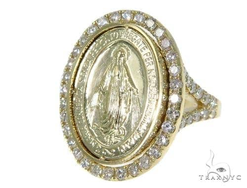 Prong Diamond Coin Anniversary/Fashion Ring 45240 Anniversary/Fashion