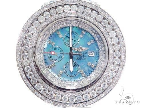 Breitling Super Avenger Mother of Pearl Watch 45220 Breitling