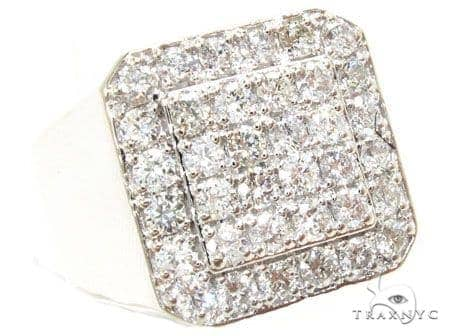 Traxnyc Heavy Diamond Ring 44537 Stone