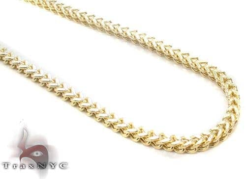 10K Gold Franco n 26 Inches, 3mm, 11.5 Grams 45287 Gold
