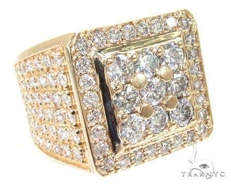 Freeze 10k Yellow Gold Premiere Ring 10892 Stone