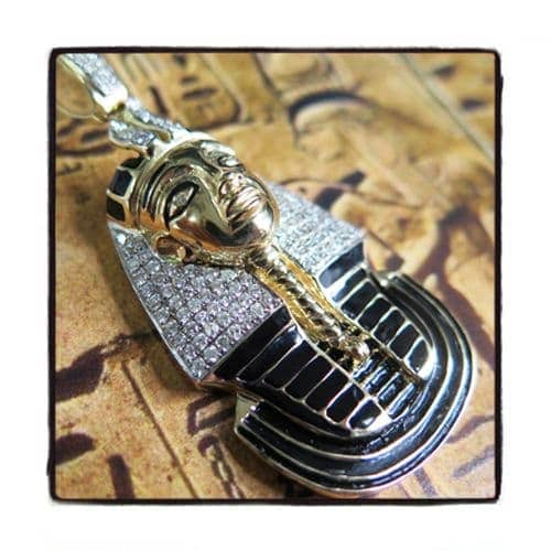 Pharaoh Diamond Pendant 42595 Metal