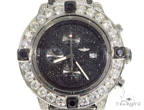 Breitling Super Avenger Fully Diamond Watch 45316 Breitling