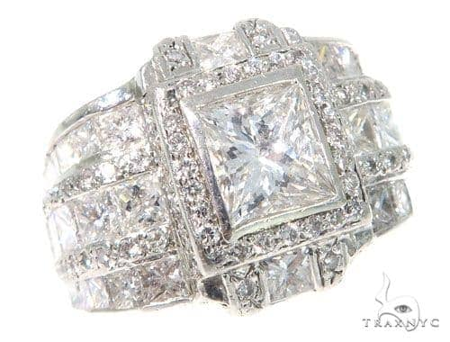 Franklin Invisible Diamond Ring 45343 Stone