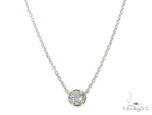Bezel Diamond Necklace 45416 Diamond