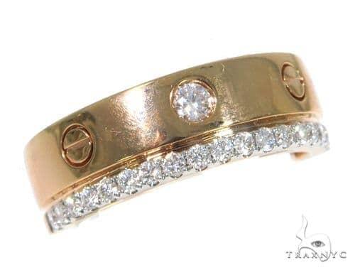 Bezel Diamond Wedding Band 45422 Style