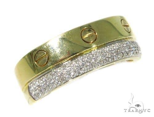 Prong Diamond Wedding Ring 45425 Style