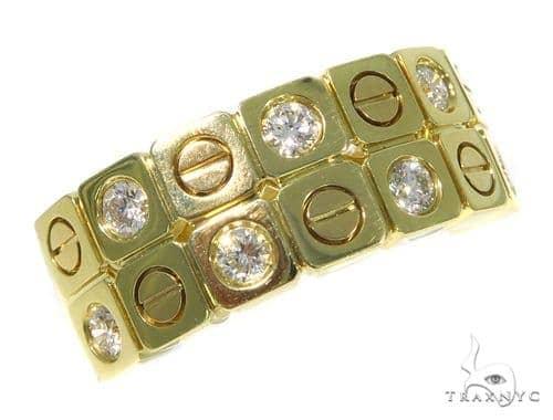 Bezel Diamond Wedding Band 45426 Style