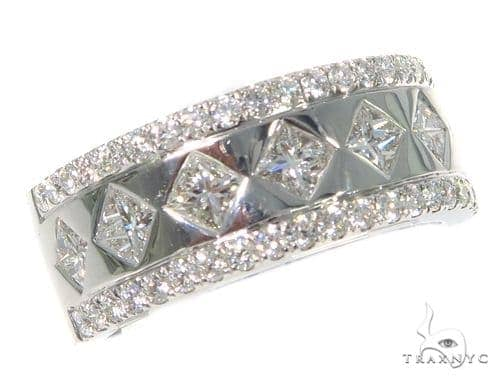 Prong Diamond Wedding Ring 45432 Style
