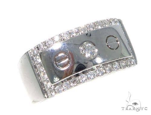 Prong Diamond Wedding Band  45431 Style