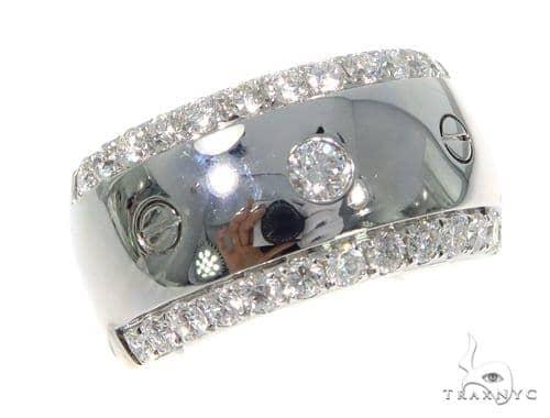 Prong Diamond Wedding Band 45430 Style