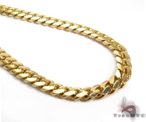Miami Cuban Chain 18k Yellow Gold 923.13 Grams 30 Inches 19mm 46449 Gold