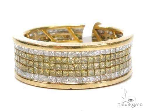 Invisible Colored Diamond Ring 42748 Stone