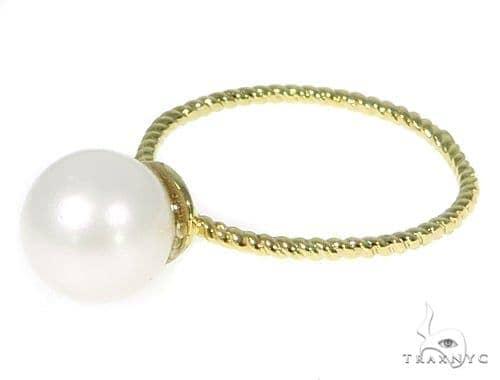 Pearl Gold Fashion Ring 45477 Anniversary/Fashion