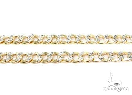 Mens 14k Solid Yellow Gold Cuban/curb Chain 28 Inches 8mm 44.85 Grams 47124 Gold