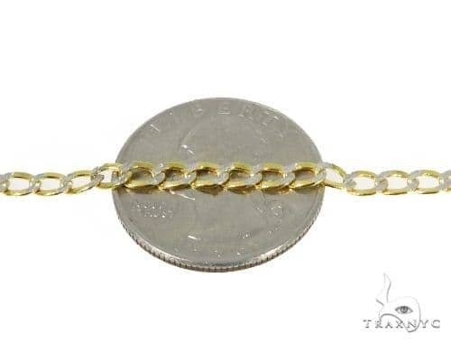 Mens 14k Solid Yellow Gold Cuban/curb Chain 20 Inches 3.7mm 7.57 Grams 47130 Gold