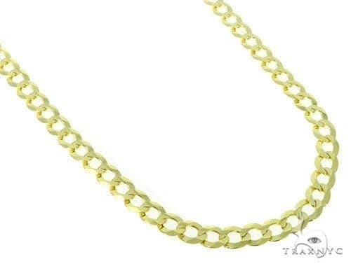 Mens 10k Solid Yellow Gold Cuban/curb Chain 26 Inches 8.3mm 34.86 Grams 47208 Gold
