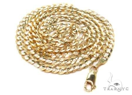 Mens 14k Solid Yellow Gold Cuban/curb Chain 26 Inches 4.7mm 14.8 Grams 47292 Gold