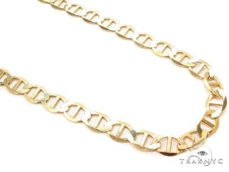 Mens 10k Solid Yellow Gold Gucci Chain 22 Inches 4.1mm 7.94 Grams 47913 Gold