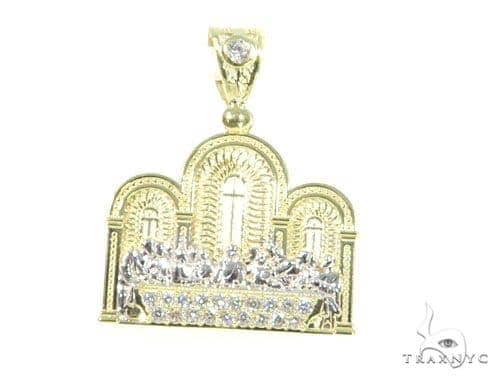 Last Supper Gold Pendant 45482 Metal