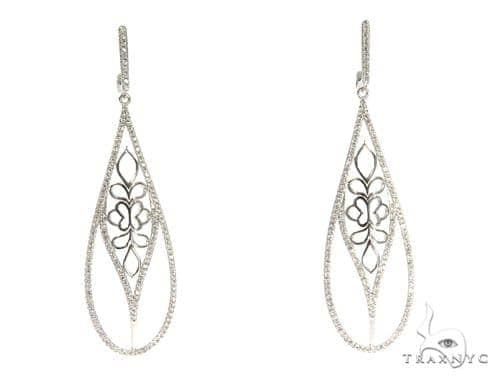 Sterling Silver Chandelier Earrings 48898 Metal