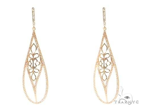 Sterling Silver Chandelier Earrings 48901 Metal