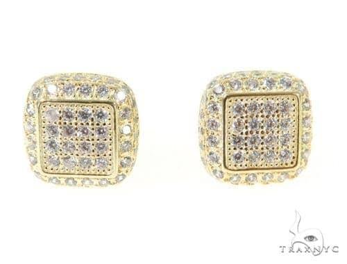 Sterling Silver Earrings 49053 Metal