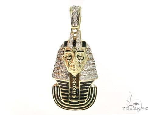 Pharaoh Diamond Pendant 49170 Metal
