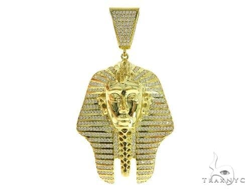 Pharaoh Silver Pendant 49164 Metal