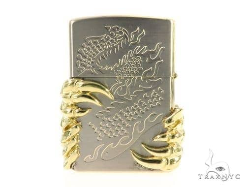 18k Gold Claw Lighter 49180 Metal