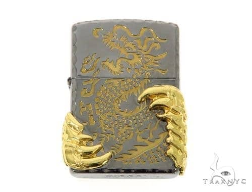18k Gold Claw Lighter 49179 Metal