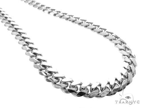 Miami Cuban Silver Chain 30 Inches 13mm 292.7 Grams 49190 Silver
