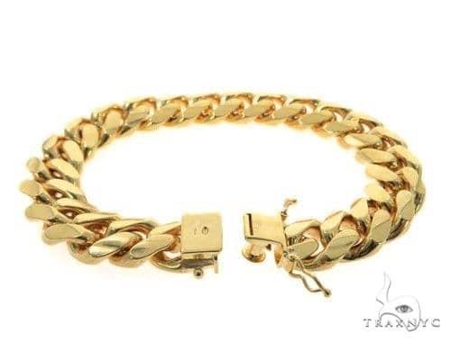 Miami Cuban Silver Bracelet 49183 Silver