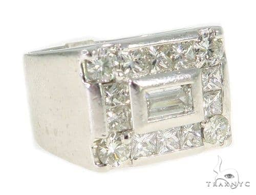 Lacerta Invisible Diamond Ring 48987 Stone