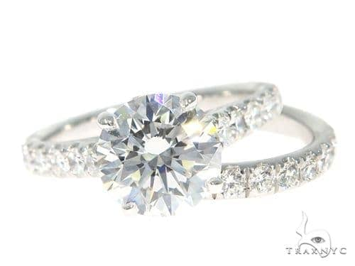 Prong Diamond Engagement Ring Set 48999 Engagement