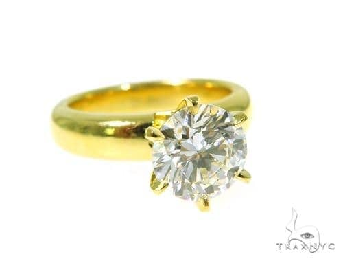 Pave Diamond Engagement Ring 48994 Engagement
