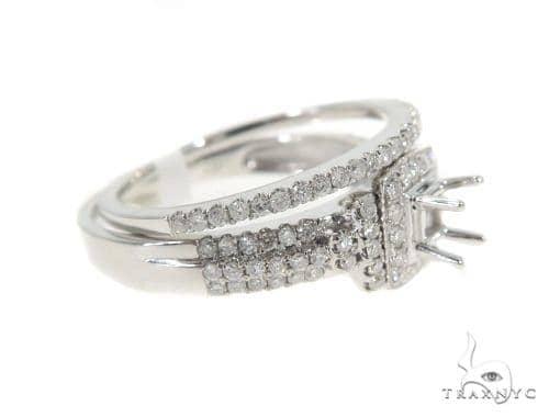 Prong Diamond Semi Mount Ring Set 44006 Engagement
