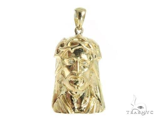 Jesus Diamond  Pendant 49417 Metal