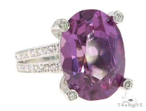 Amethyst Diamond Anniversary/Fashion Ring 49631 Anniversary/Fashion