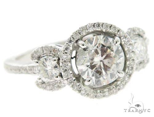 Three Stone Diamond Eangagement Ring 44990 Engagement