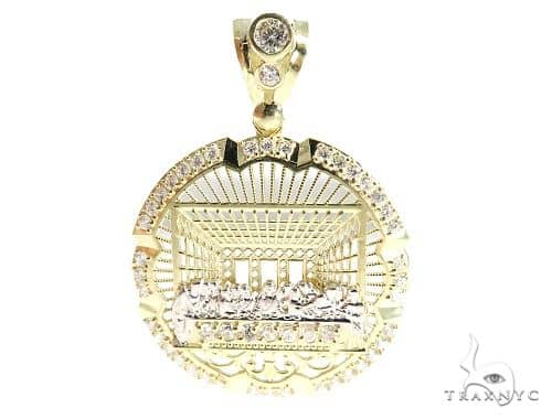 Last Supper 10k Yellow Gold Pendant 49729 Gold