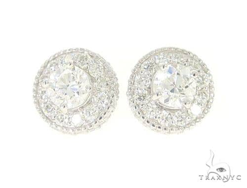 Prong Diamond Earrings Stone