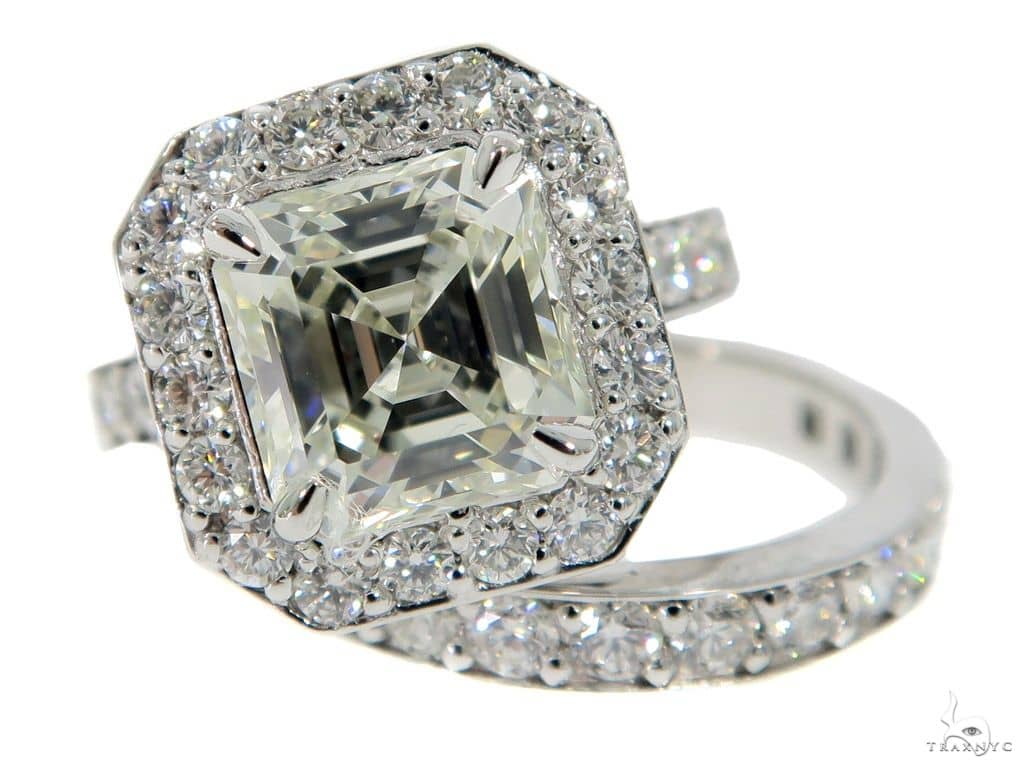 Eris Diamond Engagement Ring Set 49764 Engagement