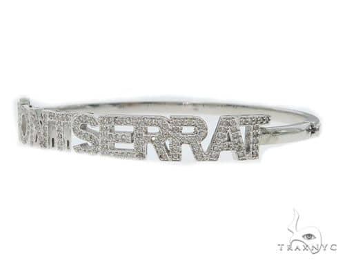 Monsterrat Diamond Bangle Bracelet 49776 Bangle