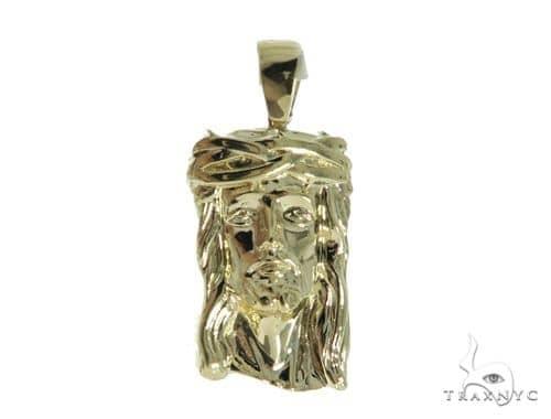 Jesus Gold Pendant 49781 Metal