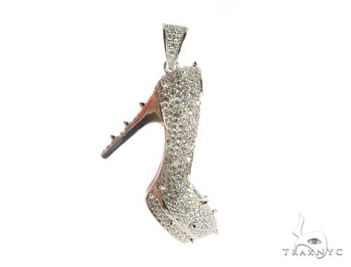 High Heels Silver Pendant 49845 Metal