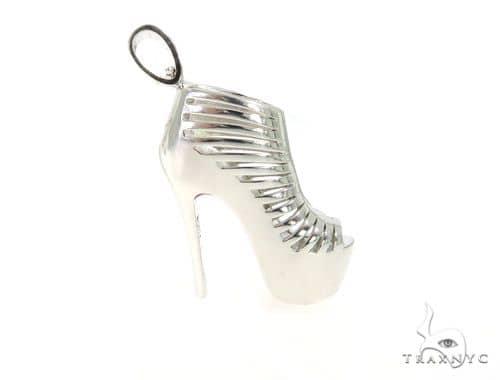 High Heels Silver Pendant 49853 Metal