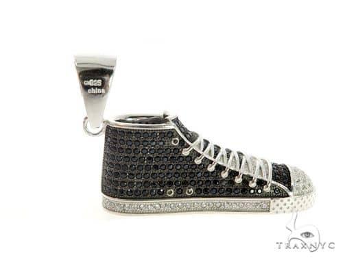 Sneakers Silver Pendant 49857 Metal